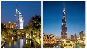 Cate etaje are Burj Khalifa? Dar Burj al-Arab?
